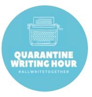 Quarantine Writing Hour logo
