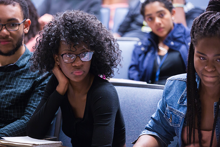 "Mawuko ""Momo"" Kpodo, a rising junior, is among five Emory MMUF Fellows who attended daily lectures and engaged in out-of-the-classroom learning experiences during the summer institute."