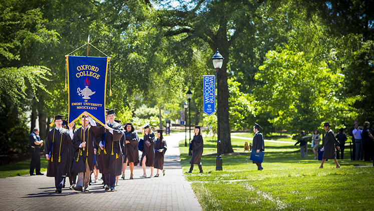 Oxford commencement will take place Saturday, May 12, 2018.
