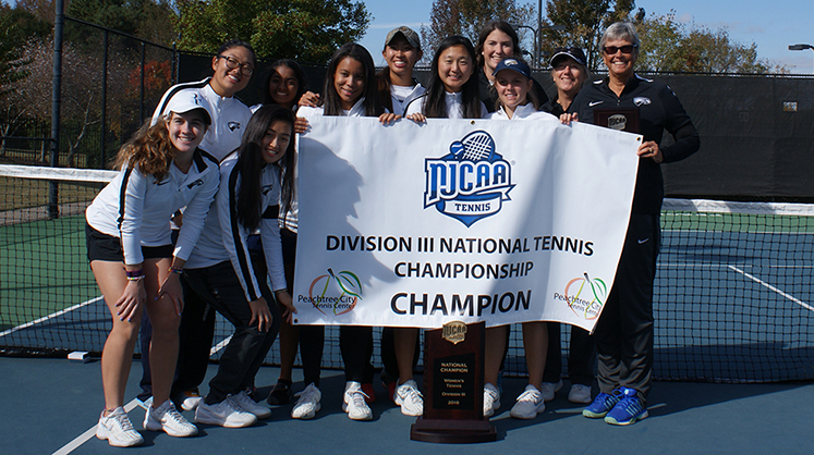 The Oxford College Women's Tennis Team clinched the NJCAA Division III National Tennis Championship for the fifth time.