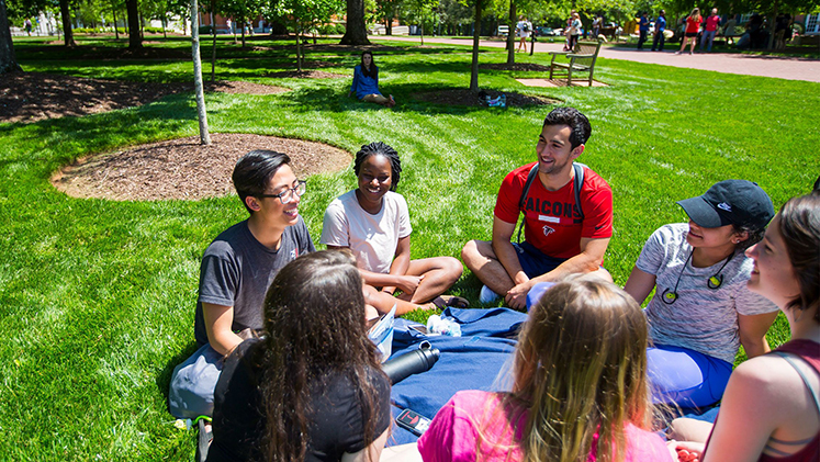Oxford students benefit from a close-knit community in the classroom and across campus.