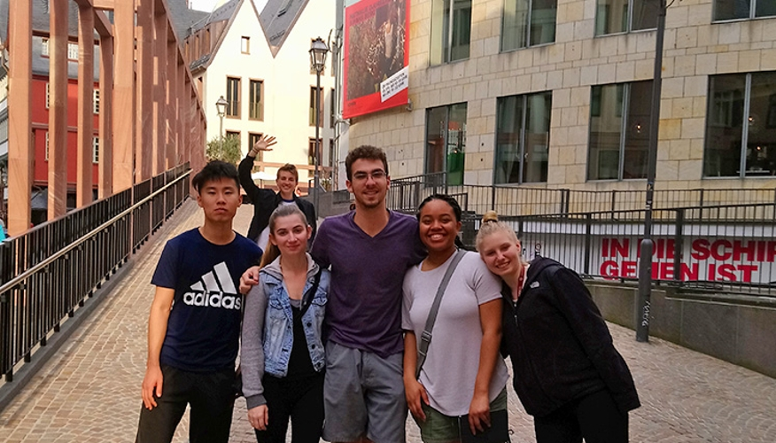 Students visited Germany this summer