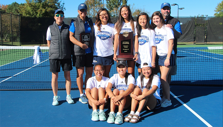 The Oxford College Women's Tennis Team clinched the NJCAA Division III National Tennis Championship for the sixth time.